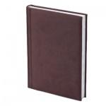 Ежедневник полудатированный Brunnen Оптимум Торино, А5, 180 листов, бордовый