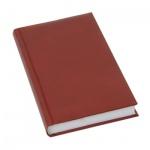 Ежедневник недатированный Brunnen Агенда Дюна, А5, 160 листов, бордовый