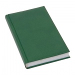 Ежедневник недатированный Brunnen Агенда Дюна, А5, 160 листов, зеленый