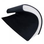 Ежедневник недатированный Brunnen Агенда Флэкси-Твайс черный, А5, 160 листов