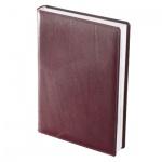 Ежедневник полудатированный Brunnen Оптимум Ля Фонтейн бордовый, А5, 180 листов