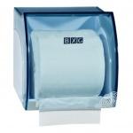 Диспенсер для туалетной бумаги в рулонах Bxg PD-8747С, прозрачный голубой