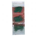 Крючки для гирлянд Tarrington House 250шт, зеленые