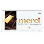 Шоколад Merci 100г 72% какао, горький