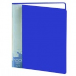 Папка файловая Бюрократ синяя, А4, на 100 файлов, BPV100BL