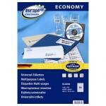 Этикетки белые Europe ELA050, 48.5х16.9мм, 6400шт
