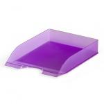 Лоток горизонтальный для бумаг Durable Basic Tray А4, фиолетовый