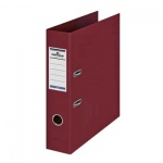 Папка-регистратор А4 Durable, темно-красная