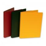 Папка пластиковая с зажимом Durable желтая, А4, 3301-04