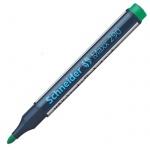Маркер для досок и флипчартов Schneider Maxx290 зеленый, 2мм, круглый наконечник, cap off