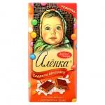 Шоколад Аленка с драже, 100г