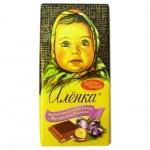 Шоколад Аленка фундук и изюм, 100г