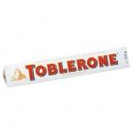 Шоколад Toblerone, 100г, белый