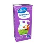 Молоко Valio 2.5%, 1л, ультрапастеризованное