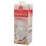 Молоко Fine Life, 950г, ультрапастеризованное, 3,2%