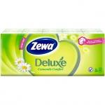 ������� ������ Zewa Deluxe 10�� � 10��, 3 ����, � �������� �������