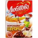 Готовый завтрак Любятово шарики шоколадные, 250г
