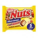Батончик шоколадный Nuts, 5шт х 30г