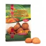 Пряники на фруктозе Петродиет абрикосовые, 340г