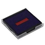 Сменная подушка квадратная Trodat для Trodat 4724, синяя-красная, 6/4924/2