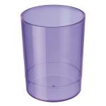 Подставка для ручек Стамм Офис 70х90мм, фиолетовая