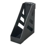 Накопитель вертикальный для бумаг Стамм Ультра А4, 100мм, черный, ЛТ02