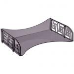 Лоток горизонтальный для бумаг Стамм Филд А4, серый