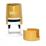 Оснастка для круглой печати Colop Printer d=40мм, золотистая, с крышкой
