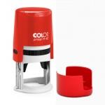 Оснастка для круглой печати Colop Printer d=40мм, красная, с крышкой