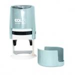 Оснастка для круглой печати Colop Printer d=40мм, с крышкой, серебряная
