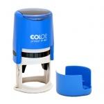 Оснастка для круглой печати Colop Printer d=40мм, синяя, с крышкой
