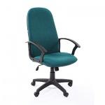 Кресло руководителя Chairman 289 NEW ткань, крестовина пластик, зеленое