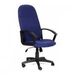 Кресло руководителя Chairman 289 NEW ткань, крестовина пластик, синее