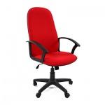 Кресло руководителя Chairman 289 NEW ткань, крестовина пластик, красное