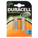 Аккумулятор Duracell AAА/HR03, 800mAh, 2шт/уп