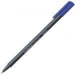 Ручка-роллер Staedtler Triplus синяя, 0.4мм