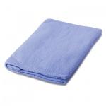 Тряпка для мытья пола Лайма Премиум колор 80х100см, вискоза, голубая