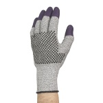 Перчатки от порезов Kimberly-Clark Jackson Safety Purple Nitrile G60 97431, M, серые/фиолет