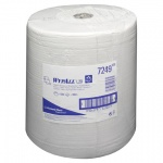 Протирочный материал Kimberly-Clark WypAll L20, 7249, общего назначения, в рулоне, 380м, 2 слоя, белый