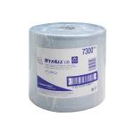Протирочный материал Kimberly-Clark WypAllL30, 7300, для сильных загрязнений, в рулоне, 190м, 2 слоя, синий