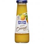 Сок Zuegg апельсин, 0.2л, стекло, апельсин