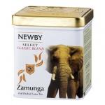 Чай Newby Wildlife Zamunga (Замунга), черный, листовой, 125 г, ж/б