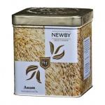 Чай Newby Safari Assam (Ассам), черный, листовой, 125 г, ж/б