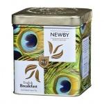 Чай Newby Safari English Breakfast (Инглиш брекфаст), черный, листовой, 125 г, ж/б