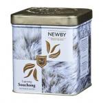 Чай Newby Safari Lapsang Souchong (Лапсанг Сушонг), черный, листовой, 125 г, ж/б