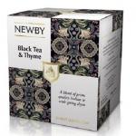 Чай Newby Black Tea&Thyme (Черный чай с чабрецом), черный, листовой, 100 г