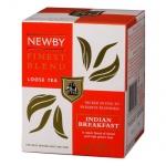 Чай Newby Indian Breakfast (Индиан брэкфаст), черный, листовой, 100 г