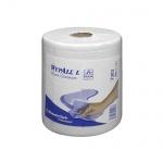 Протирочные салфетки Kimberly-Clark WypAll L30 7303, в рулоне, 300шт, 2 слоя, белые