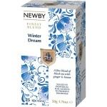 Чай Newby Winter Dream (Винтер дрим), черный, 25 пакетиков