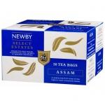 Чай Newby Assam (Ассам), черный, 50 пакетиков